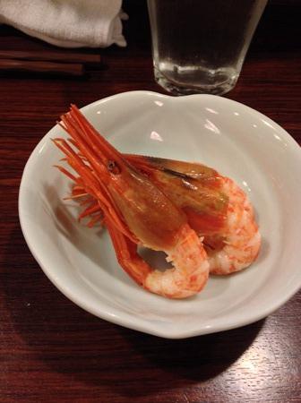 札幌「魚菜」お通し