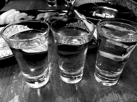 永楽食堂利き酒セット