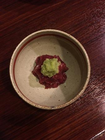 札幌「魚菜」梅わさび