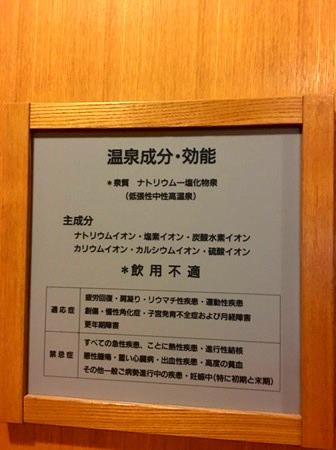 翠山亭倶楽部定山渓温泉大浴場