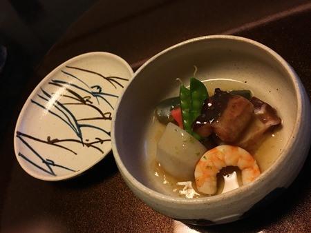 翠山亭倶楽部定山渓の夕食